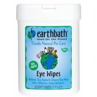Earthbath Eye Wipes for Pets | Cat Health Aids
