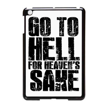 Bring Me The Horizon Go To Hell For Heaven Sake iPad Mini Case