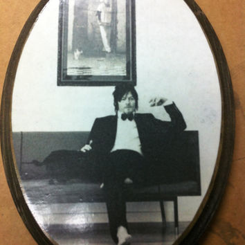 Norman Reedus Hanging Wall Plaque
