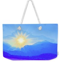 Watercolor Sunrise Weekender Tote Bag for Sale by Susan Eileen Evans