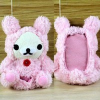 Pink Plush Toy for iPhone 4/4S