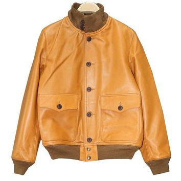 DHL Free .classic style mens leather jacket, vintage cowhide Jacket,man A1 Engraved quality coat.sales.Brand