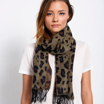 Get Spotted Cheetah Scarf