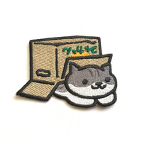 Pickles Embroidered Patch *Neko Atsume*