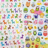 Photo DIY Animal Planner Diary Stickers Biscuits Scrapbook Calendar Decor L