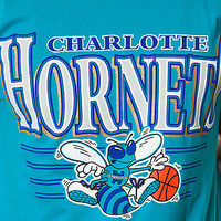 The Charlotte Hornets Tee in Turquoise