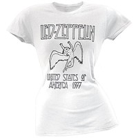 Led Zeppelin - Icarus Logo Juniors T-Shirt