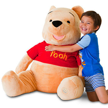 Disney Jumbo Winnie the Pooh Plush Toy -- 48'' H | Disney Store