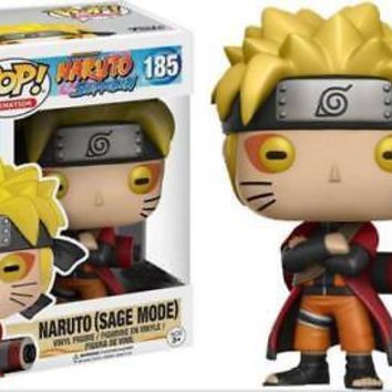 Funko pop Naruto 185 Anime around the hand to do model toys