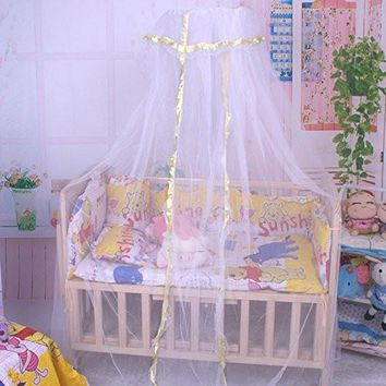 Baby Kids Infant Nursery Crib Small Portable Mosquito Net for Outdoor Home,Toddler Canopy Netting Bed nets