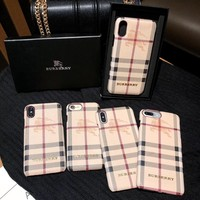 Burberry Vintage Check iPhone Case