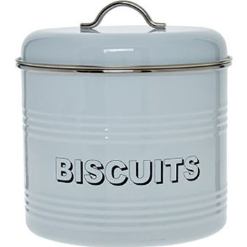 Home Sweet Home White Biscuit Tin