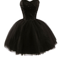 Black MIni Homecoming Dress,Beadings Homecoming Dress,Homecoming Dresses
