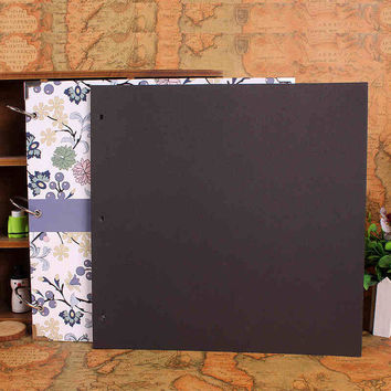 Extra Sheets for 28x28 cm DIY Photo Album New 10 sheets Scrapbook Paper Crafts Inner Sheets Black Card Handmade Inside Pages