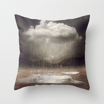 It's Okay. Even the Sky Cries Sometimes. Throw Pillow by Soaring Anchor Designs   Society6