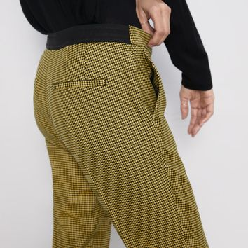 PANTS WITH ELASTIC WAISTBAND