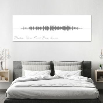 Song Sound Wave Art