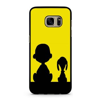 Snoopy And Charlie Brown Samsung Galaxy S7 Case
