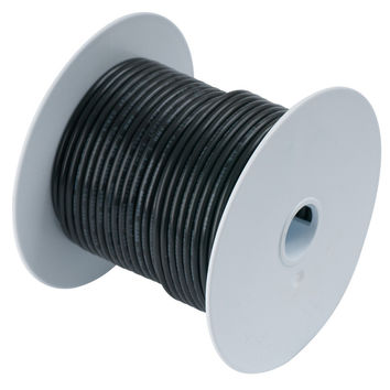 Ancor Black 16 AWG Tinned Copper Wire - 500'