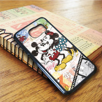 Minnie And Mickey Mouse Cartoon Samsung Galaxy S6 Edge Case