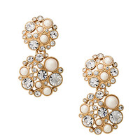 Kate Spade Pick A Pearl Drop Earrings Cream Multi ONE
