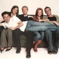 How I Met Your Mother Cast On Couch Poster, 24 x 36