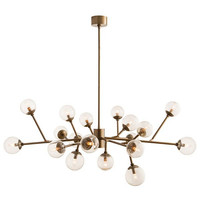 Arteriors Home Dallas Chandelier, Vintage Brass - Arteriors 89966