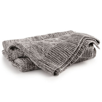 Hotel Collection Marled Knit Throw, Created for Macy's | macys.com