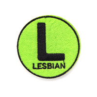 Lesbian Subway Sign Patch