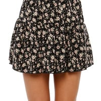 Papaya Clothing Online :: floral print short skirt