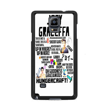 Collage Joey Graceffa Samsung Galaxy Note 3 | 4 Cover Cases