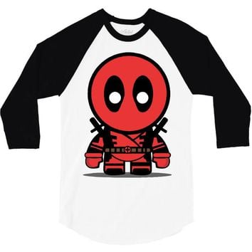 deadpool 3/4 Sleeve Shirt