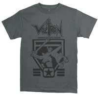 Voltron Defender Of The Universe Charcoal Gray T-Shirt
