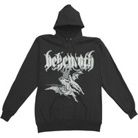Behemoth Men's  Descent Hooded Sweatshirt Black