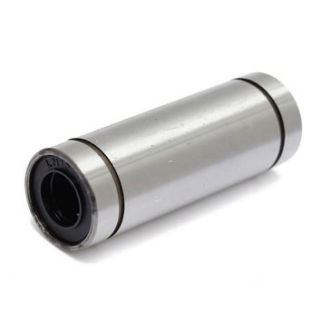 1pcs LM10LUU 10mmx19mmx55mm 10mm longer linear ball bearing bush bushing for 10mm rod round shaft cnc