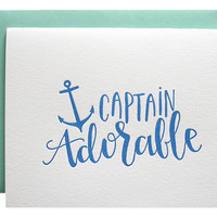 Captain Adorable Card