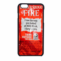 Taco Bell Sauce Fire Cover iPhone 6 Case