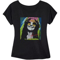 Janis Joplin  Janis Psychedelic Girls Jr Black