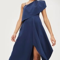One Shoulder Midaxi Dress - Clothing