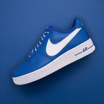 PEAP2Q nba x nike air force 1 af1 nba white blue 823511 103