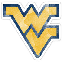 west virginia university wvu logo by linnnna