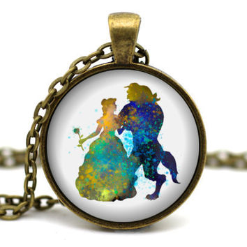 Best beauty and the beast jewelry products on wanelo for Disney beauty and the beast jewelry