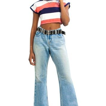 Vintage 90's Relax Flare Jeans - M