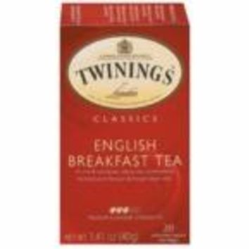 Twinings English Breakfast Tea (6x20 Bag)