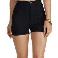Sale-the Lettin The Night Roll Denim Shorts