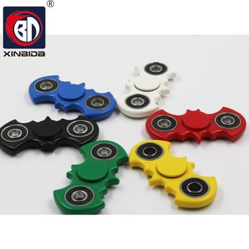 Batman,Hot Spinner Fidget Toy Plastic Stress Wheel EDC Anti Stress Hand Spinner For Autism and antistress Multicolor 6 Style