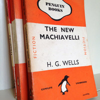 Penguin Classic Book HG Wells - The New Machiavelli
