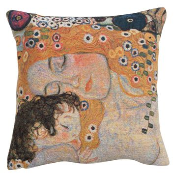 Mother and Child 1 European Cushion