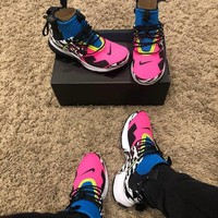 NIKE AIR Presto Mid x ACROONYM Zipper jogging shoes-2