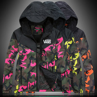 Winter Men's Fashion Coat Men Hats Camouflage Korean Stylish Jacket [6544000899]